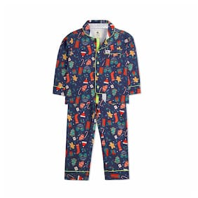 4f5ee544e15 Cherry Crumble Casual Printed Nightsuit