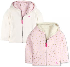 Cherry Crumble By Nitt Hyman Boy Poly cotton Polka dots Sweatshirt - Pink