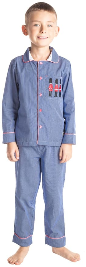 Cherry Crumble Soldier Nightsuit