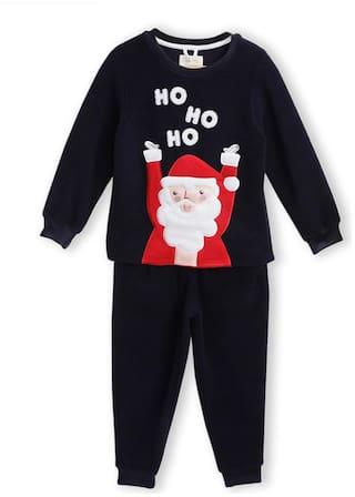 Cherry Crumble By Nitt Hyman Holiday Treat Top & Pyjama Set Blue