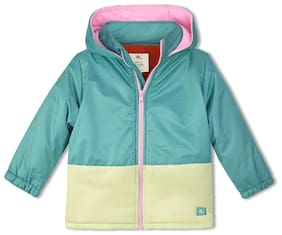Cherry Crumble Boy Polyester Solid Winter jacket - Multi