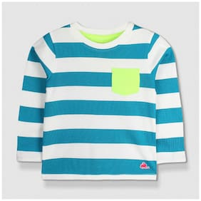 Cherry Crumble Boy Cotton Solid Sweatshirt - Multi