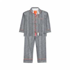 Cherry Crumble By Nitt Hyman Quirky Night Suit Nightwear Set Grey