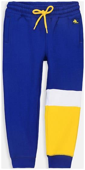 Cherry Crumble Boy Cotton blend Track pants - Blue
