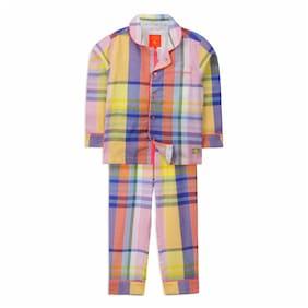 Cherry Crumble By Nitt Hyman Prom Nightsuit Nightwear Set Multi