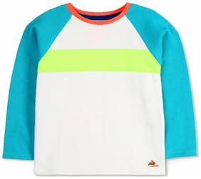 Cherry Crumble By Nitt Hyman Baby boy Cotton Solid Sweatshirt - Multi
