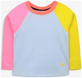 Cherry Crumble Boy Cotton Solid Sweatshirt - Grey
