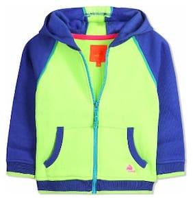 Cherry Crumble Boy Cotton blend Solid Sweatshirt - Multi