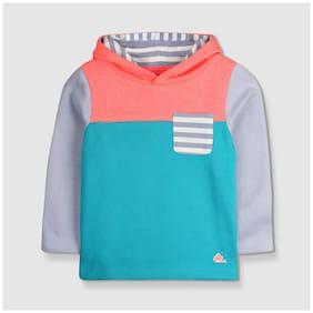 Cherry Crumble Boy Cotton Solid Sweatshirt - Multi