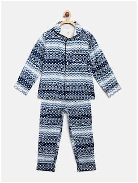 Cherry Crumble By Nitt Hyman Top & Pyjama Set 18243 Boy WS-UNSUIT-5301WH-8Y Multi