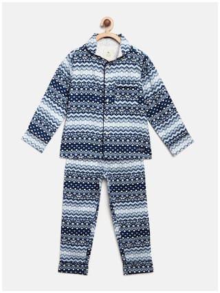 Cherry Crumble By Nitt Hyman Top & Pyjama Set 18243 Boy WS-UNSUIT-5301WH-8Y Multi