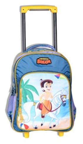 Chhota Bheem Trolley School Bag - 16 inches