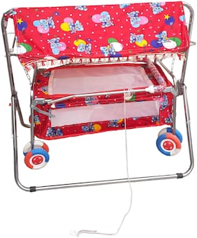 Oh Baby Red Bassinets & Cradles for Kids