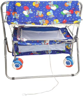 Oh Baby Blue Bassinets & Cradles for Kids