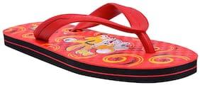 Children casual slipper TBT-Mogliplus red colour