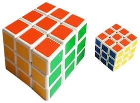 Rubic Cube COMBO OF 2 - Small & Medium