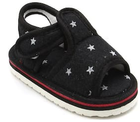 CHIU Black Sandals For Infants