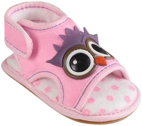 CHIU Pink Sandals For Infants