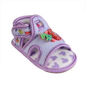 CHIU Purple Sandals For Infants