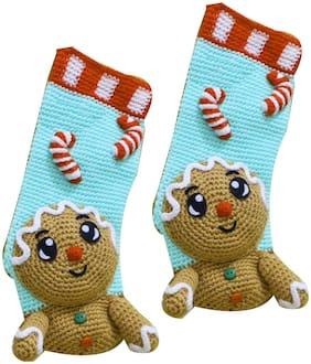 ChoosePick Woollen Socks Handwoven for Girls of 5-6 Yrs 101