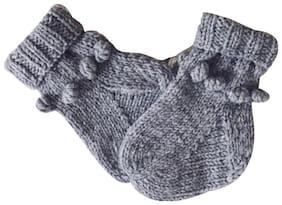 ChoosePick Woollen Socks Handwoven for Girls of 2-3 Yrs 14