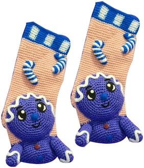 ChoosePick Woollen Socks Handwoven for Girls of 11-12 Yrs 110