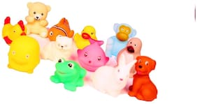 Chu Chu Bath Toys (Set of 12 Piece NON TOXIC BPA FREE)