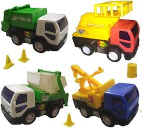 City Service Vehicle Set of 4