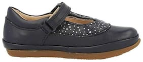 Clarks Navy Blue Casual Shoes For Girls