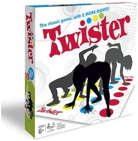 Tickles Classic Twister with 2 More Moves Spin Wheel Floor Game for Kids