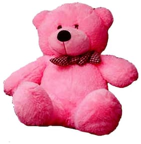 CLICK4DEAL 5 FEET LONG HUGE LOVEABLE HUGABLE PLAYABLE SOFT TEDDY BEAR  PINK (152 CM) BEST FOR SOMEONE REALLY SPECIAL