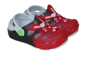 Arete Red Sandals For Boys