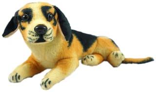 Coco Brown & Black German Dog Soft Toy