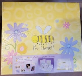 "COLORBOK KEEPSAKE BOX AND ALBUM ""BEE HAPPY"" FOR BABY GIRL/BOY"