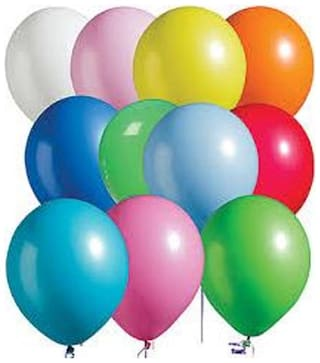 Colorful Balloons 100 pcs Shine Latexcool Fun Birthday Party Celebrations