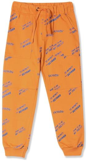 Colt Boy Printed Trousers - Orange