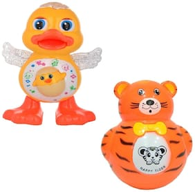 combo of Dancing Duck with Roly-Poly Toy for kids