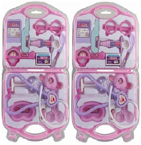 Combo Of Foldable Docter Set Pack Of 2 ( Multicolor )