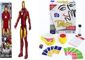 Combo pack Of Taboo & Iron man Action Figure Game Set For Kids