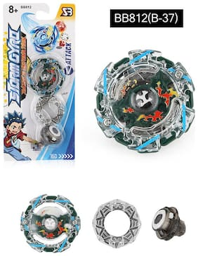 Cool Burst Alloy Comic Beyblade Spinning Top Kids Fighting Gyro Game Toys Children Gift Color: b37