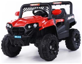 Cool Baby Lookalike thar Electric Rechargeable Red Ride-on car - 8-10 years