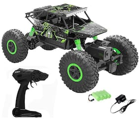 Cos theta  Drift Waterproof Remote Controlled Rock Crawler RC Monster Truck, 4 Wheel Drive, 1:18 Scale 2.4 Ghz (