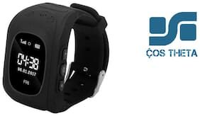 Cos theta Q50 Children OLED Display GPS SOS Smart Watch Telephone tracking kids watch