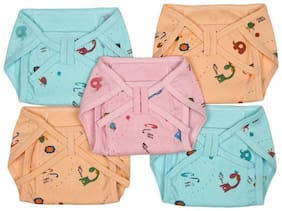 Cotton Nappies ( Pack of 5 )