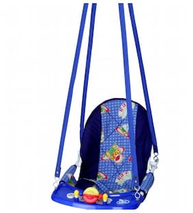 Natraj Cozy Swing DLX - Blue