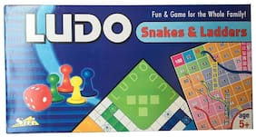 CP Bigbasket Ludo Snakes Ladders Game All Time Family Entertainer
