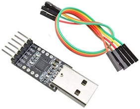 CP2102 USB to TTL USB UART Serial converter module 6 Pin (Used As ArduinoPRO MINI Programmer Adapter)