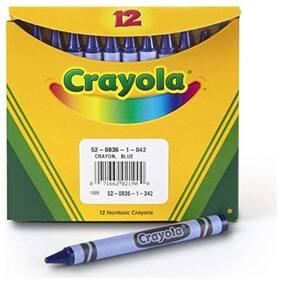 Crayola Bulk Crayons 12 Ct Blue