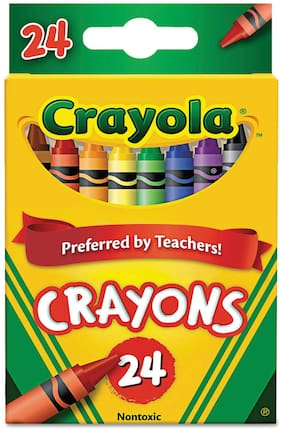 Crayola Classic Color Pack Crayons 24 Colors/Box 523024