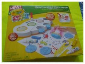Crayola Color Wonder Mess Free Light-Up Stamper, Magically Lights Up!